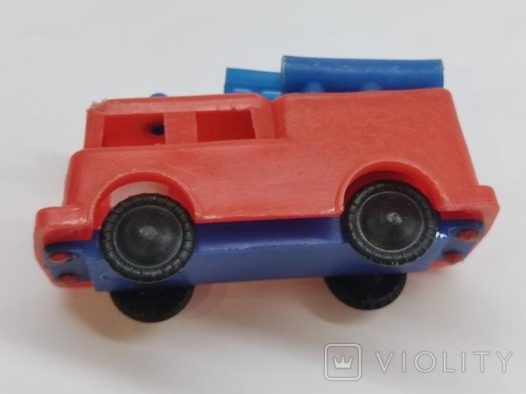 Машинка игрушка Пожарная машина времён СССР, фото №9