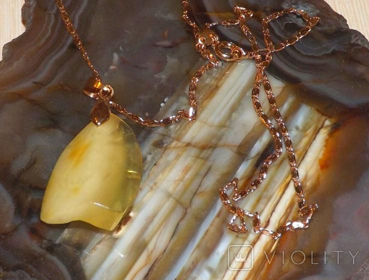 Янтарный кулон, фото №7