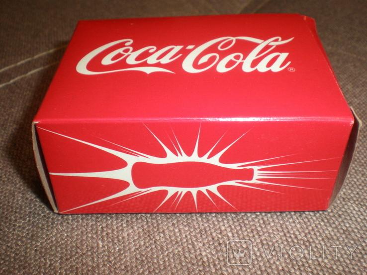 Рекламный радиоприёмник Cosa Cola новый в коробке документы, фото №8