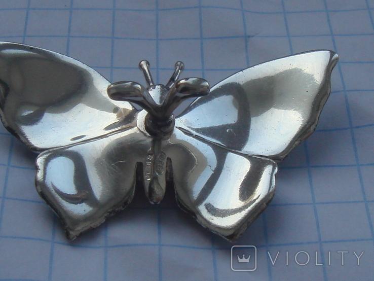 Метелик в емалях., фото №4