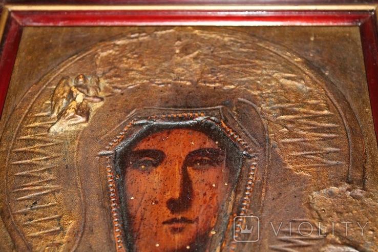Старая Икона Пресвятая Богородица, фото №5