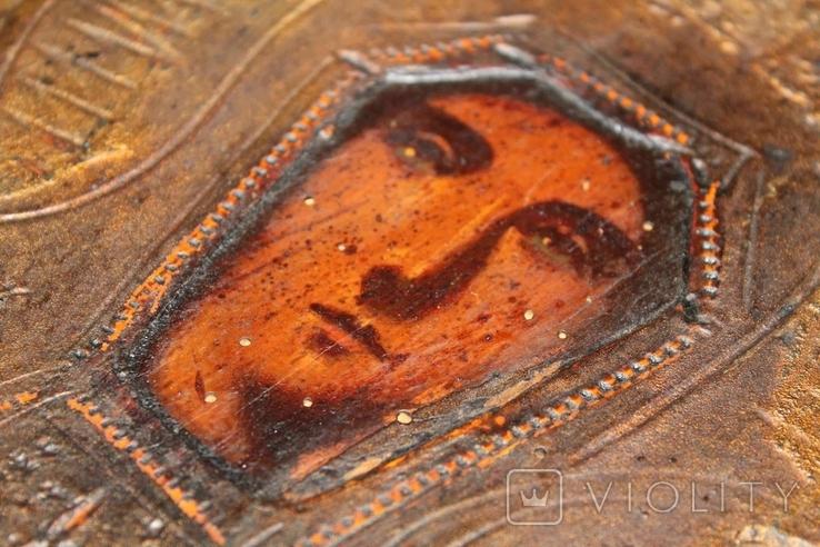Старая Икона Пресвятая Богородица, фото №6