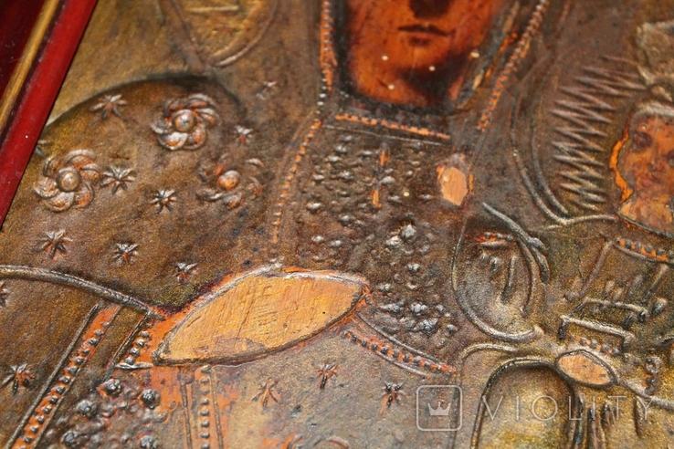 Старая Икона Пресвятая Богородица, фото №7