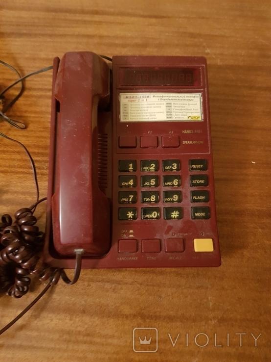 Телефон стационарный с определителем номера, фото №2