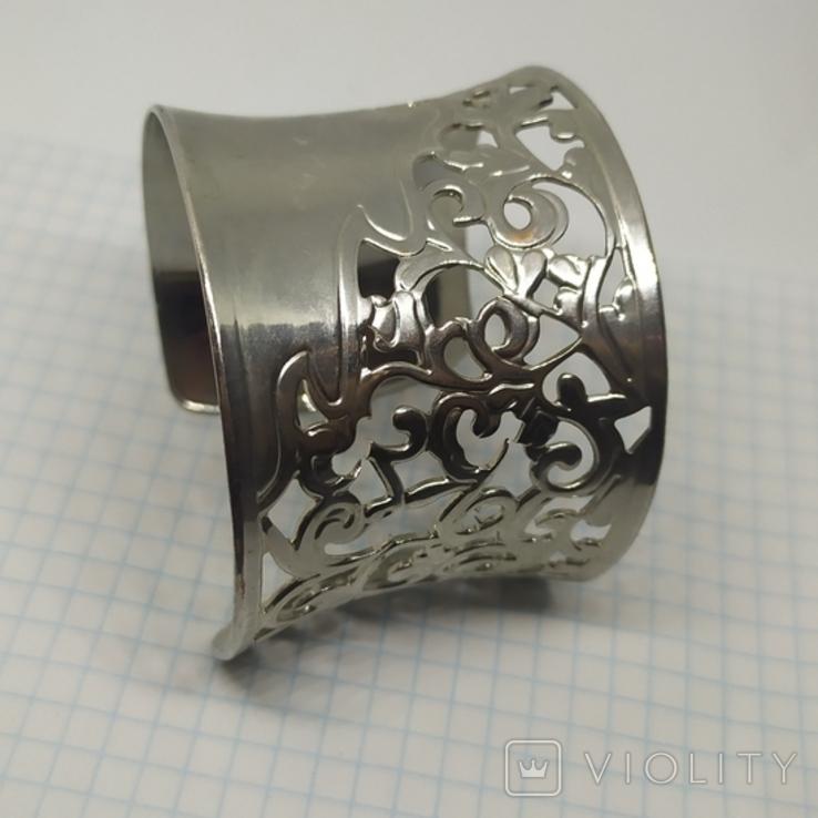 Широкий ажурный браслет (3), фото №3