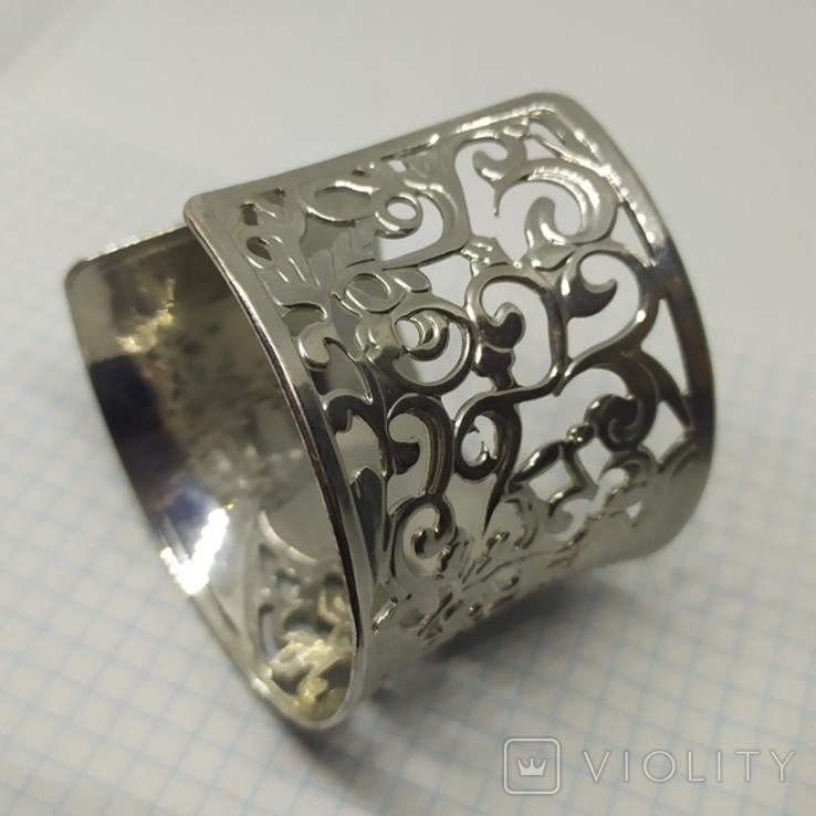 Широкий ажурный браслет (3), фото №5