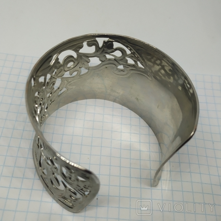 Широкий ажурный браслет (3), фото №7