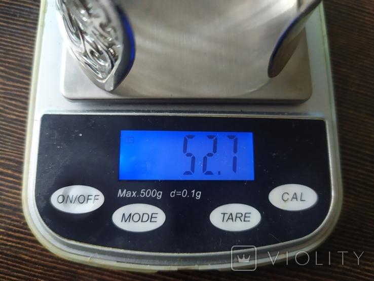 Широкий ажурный браслет (3), фото №8