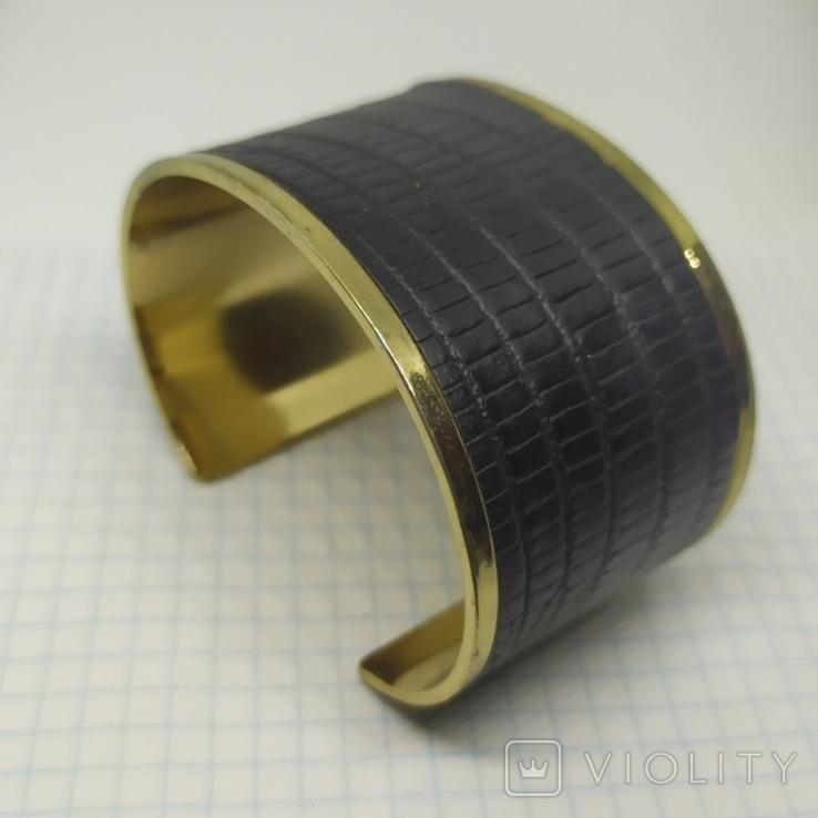 Широкий браслет на жесткой основе (3), фото №2