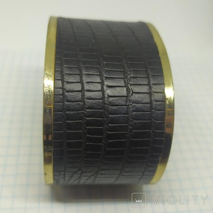 Широкий браслет на жесткой основе (3), фото №3