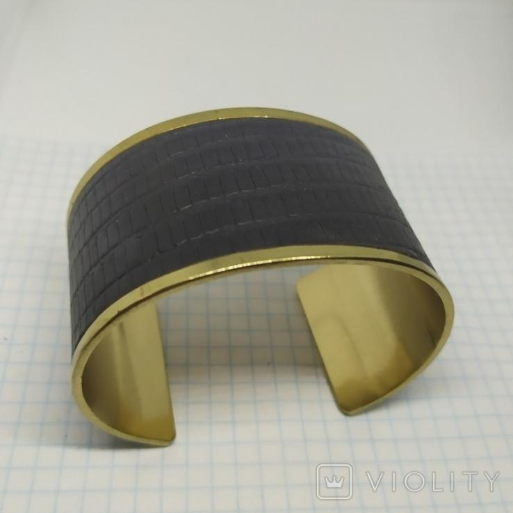 Широкий браслет на жесткой основе (3), фото №4