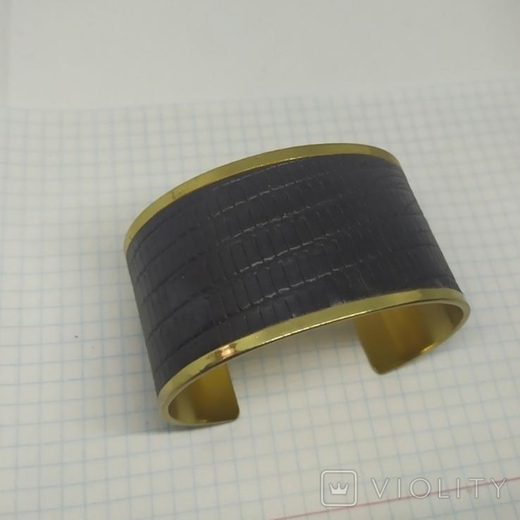 Широкий браслет на жесткой основе (3), фото №5