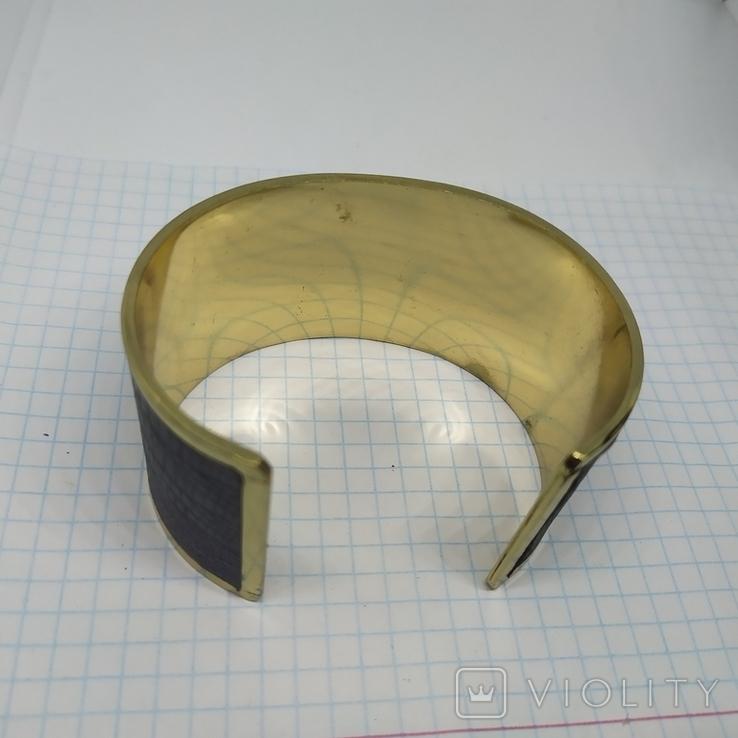 Широкий браслет на жесткой основе (3), фото №6