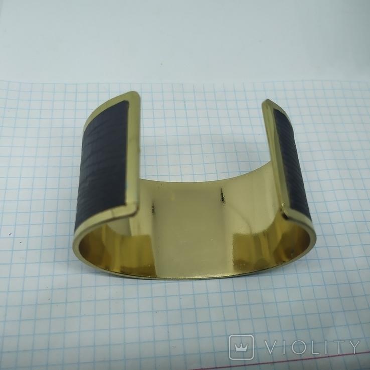 Широкий браслет на жесткой основе (3), фото №8