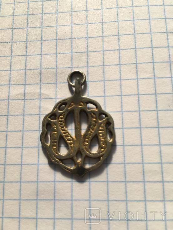 Чекан украшения кулон из серебра и по золотой и.т.д), фото №3