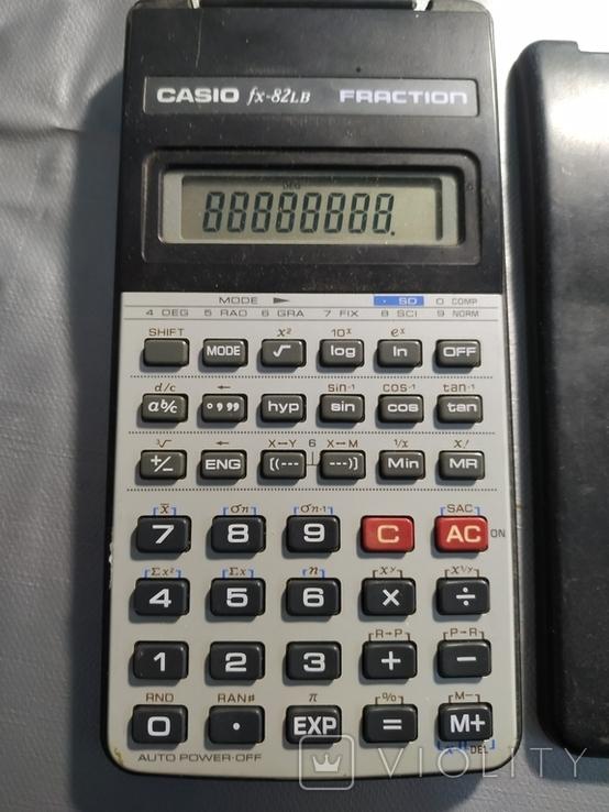 Калькулятор Касио Casio fx-82LB fraction, фото №3