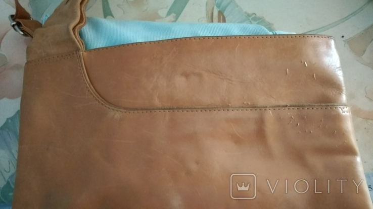 Сумка через плечо,кожа, фото №8