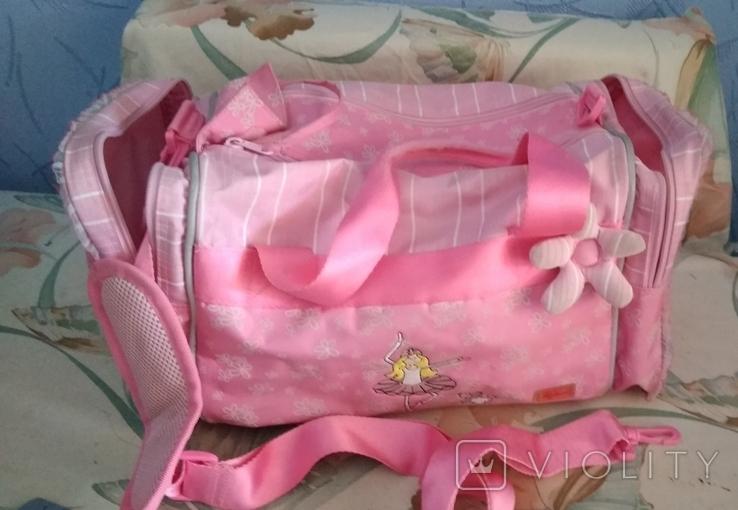 Спортивная сумка для девочка 40*22*22, фото №2