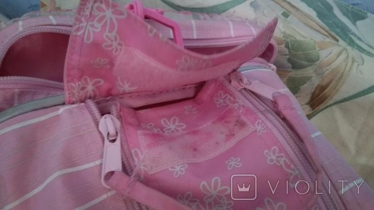 Спортивная сумка для девочка 40*22*22, фото №4