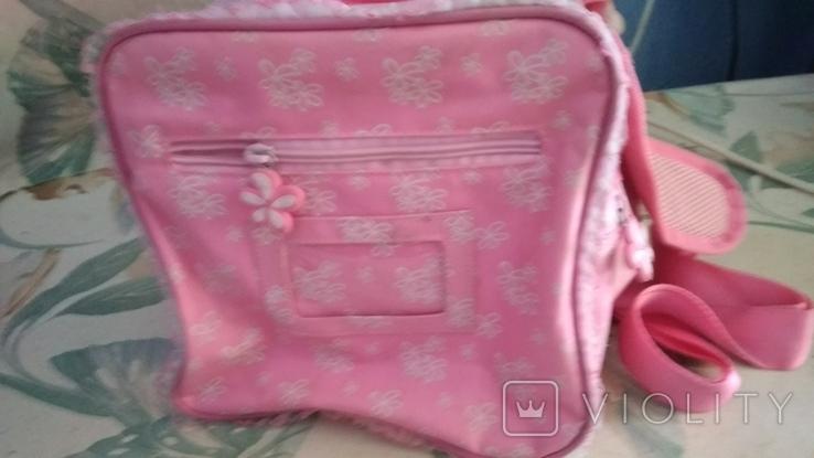 Спортивная сумка для девочка 40*22*22, фото №7