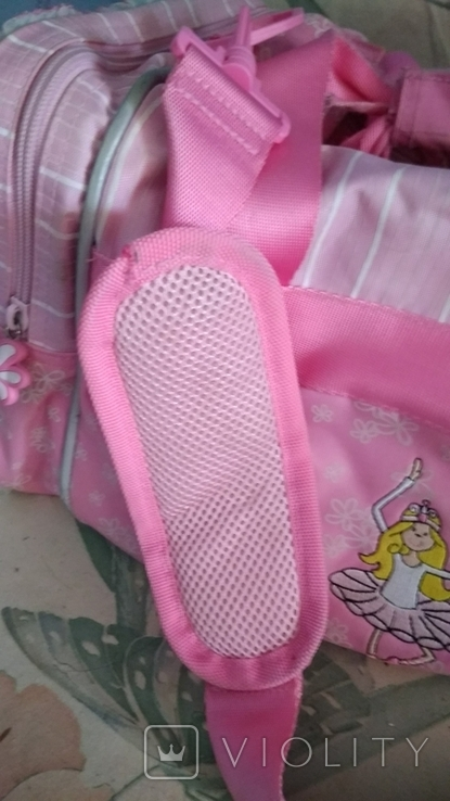 Спортивная сумка для девочка 40*22*22, фото №12