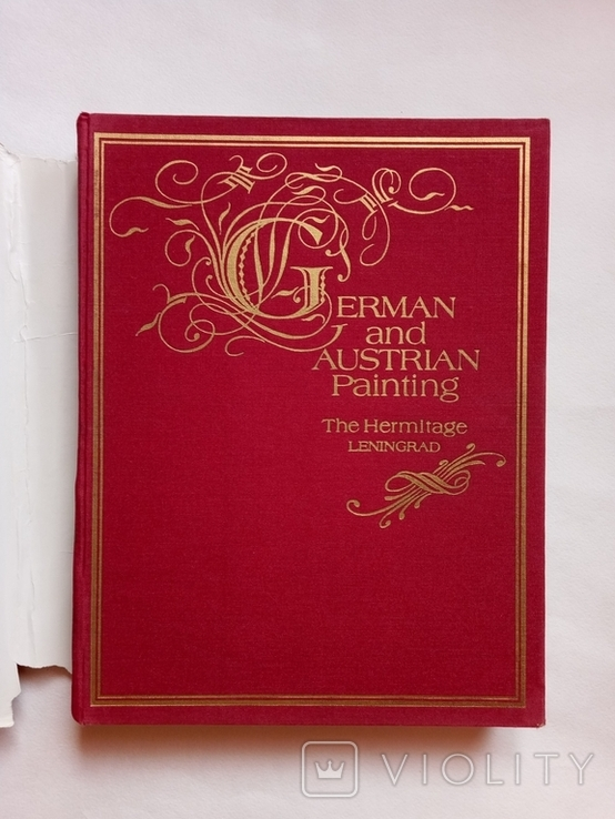 1987 German and Austrian painting Hermitage-Немецкая и австрийская живопись. Эрмитаж, фото №4