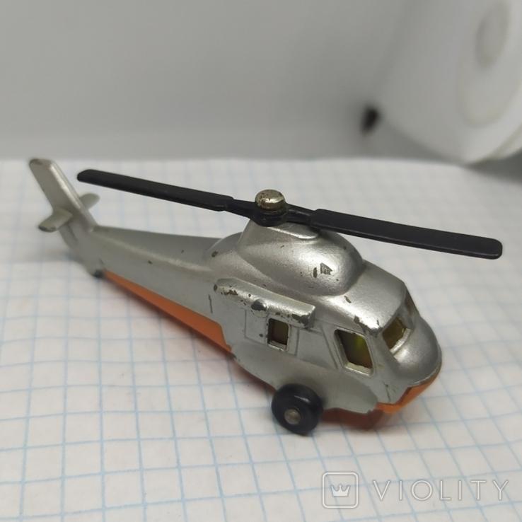 Вертолет Matchbox. Болгария. Металл, фото №2