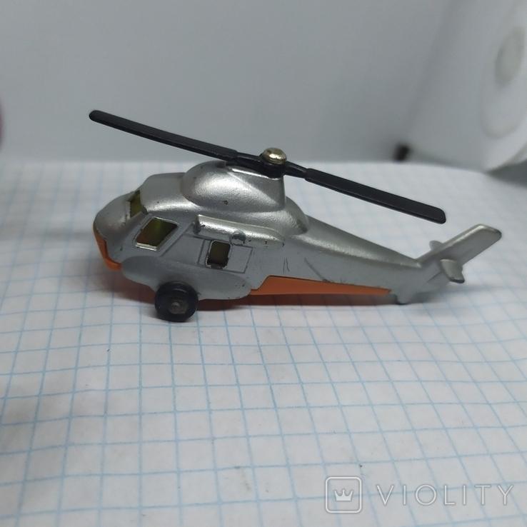 Вертолет Matchbox. Болгария. Металл, фото №5