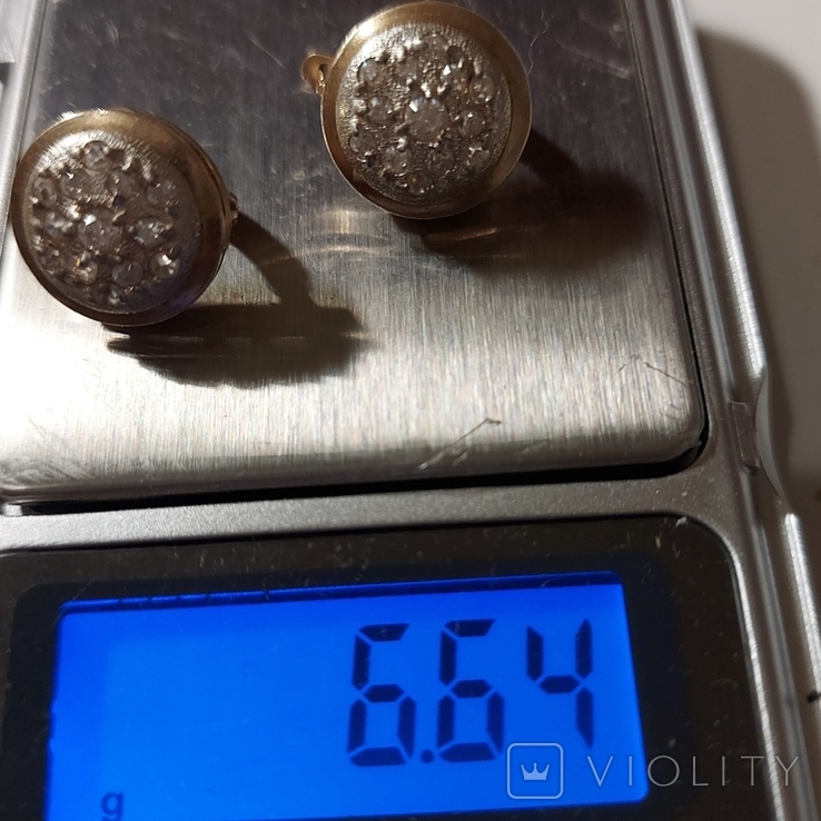 Кольцо и серьги, фото №4