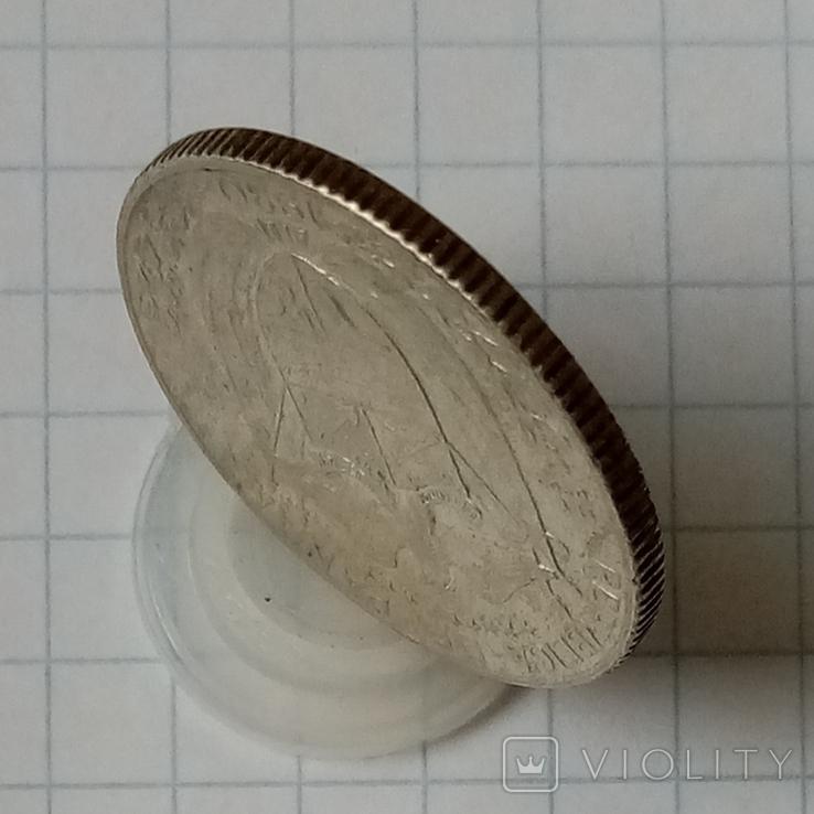 1/4 бальбоа 1930г Панама серебро, фото №4