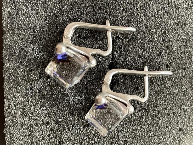 Серебряные сережки, фото №5