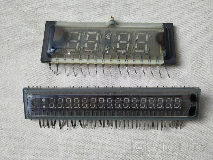 Индикатор СССР ИЛЦ4-5/7Л 9111 и Индикатор ИЛЦ2-16/8, фото №2