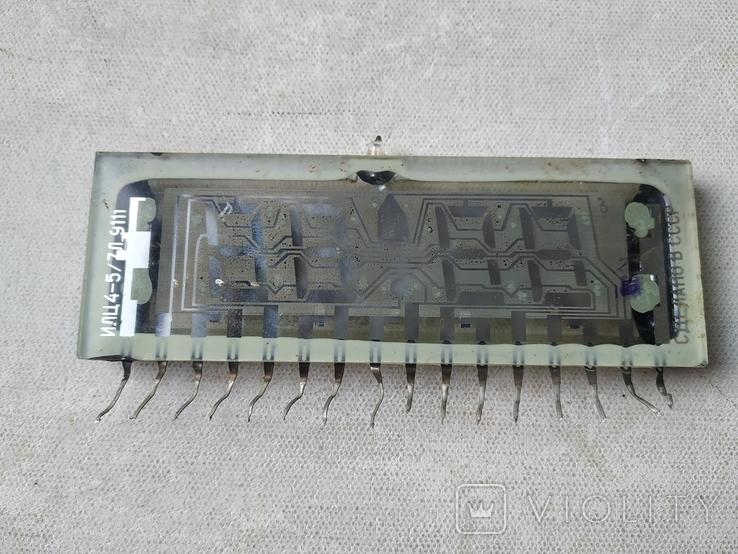 Индикатор СССР ИЛЦ4-5/7Л 9111 и Индикатор ИЛЦ2-16/8, фото №5