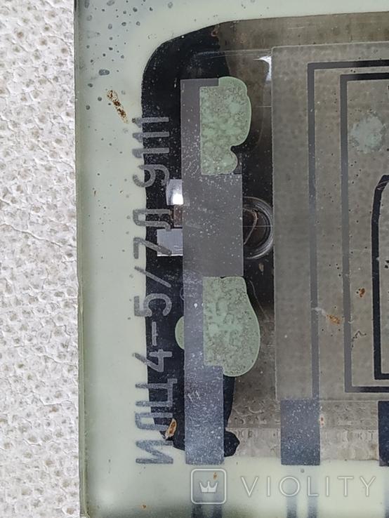 Индикатор СССР ИЛЦ4-5/7Л 9111 и Индикатор ИЛЦ2-16/8, фото №6
