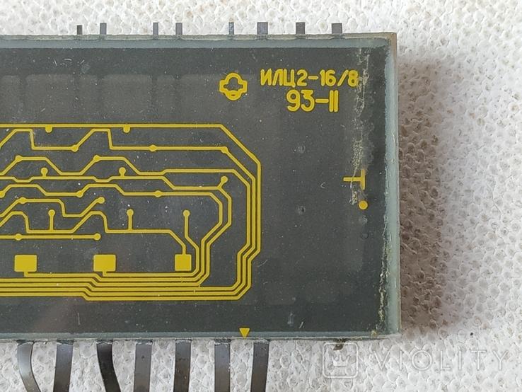 Индикатор СССР ИЛЦ4-5/7Л 9111 и Индикатор ИЛЦ2-16/8, фото №10