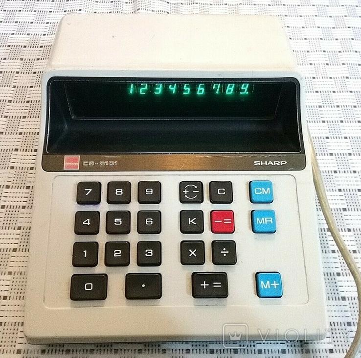 Калькулятор Sharp cs-2101, фото №2