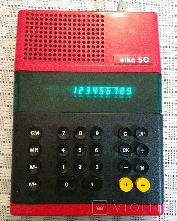 Калькулятор elka 50, фото №2