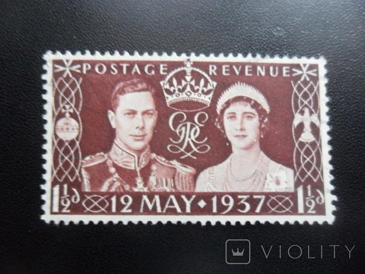 Великобритания. 1937 г. MLH, фото №2