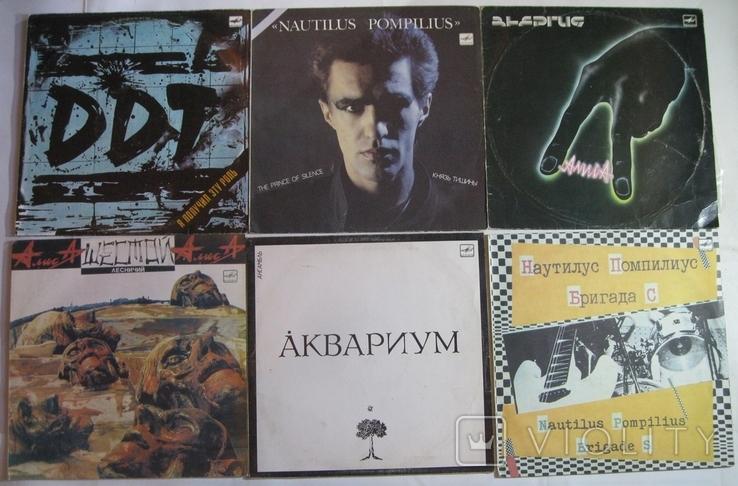 Пластинки СССР-рок 19шт., фото №2