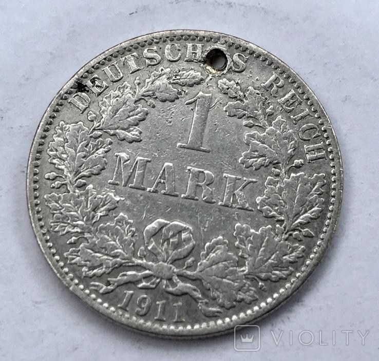 1 марка 1911 года, фото №2