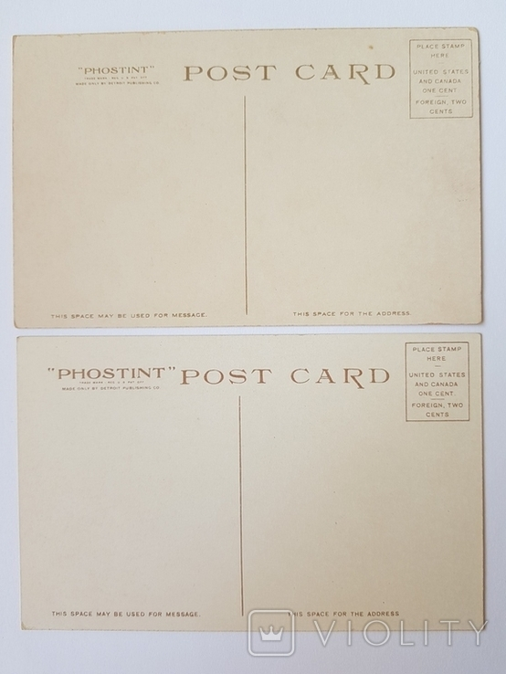 Открытое письмо. США 10 шт. №7, фото №6