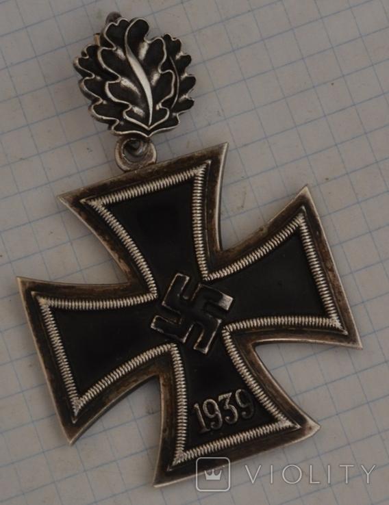 Железный крест с дубовыми листьями(копия), фото №3
