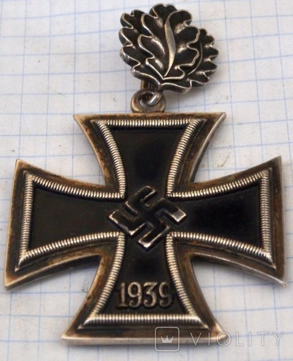 Железный крест с дубовыми листьями(копия), фото №4