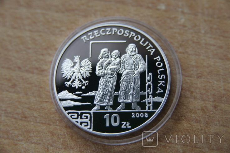 10 Злотых 2008 г. Бронислав Пилсудский, фото №3