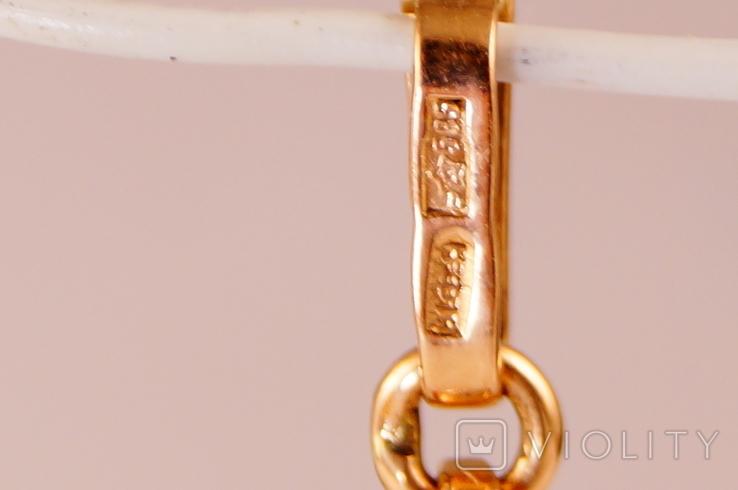 Золотой кулон 583, фото №8