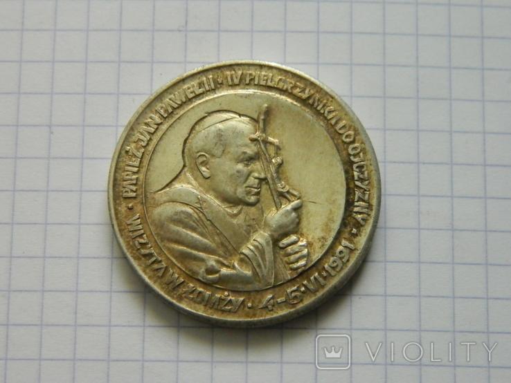 Настільна медаль 6., фото №2