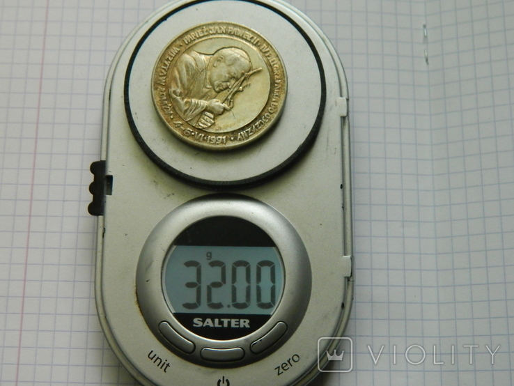 Настільна медаль 6., фото №4
