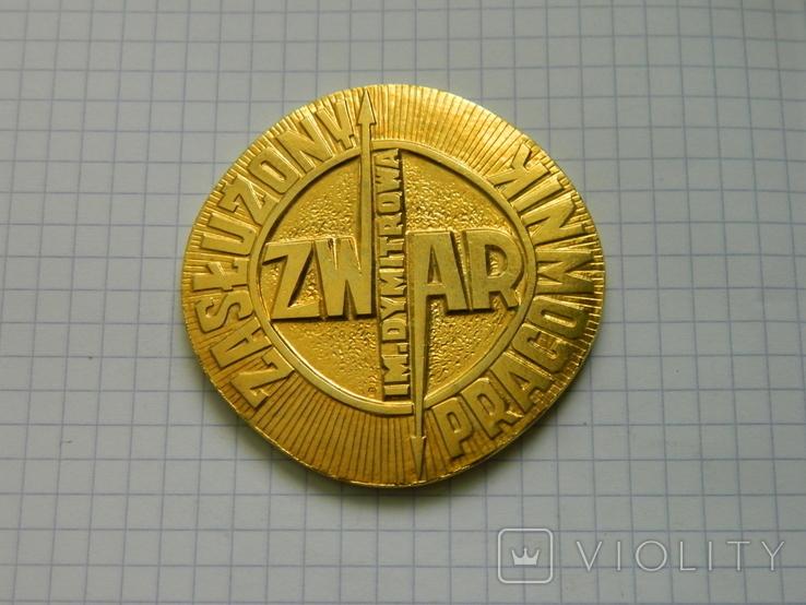 Настільна медаль 8., фото №2