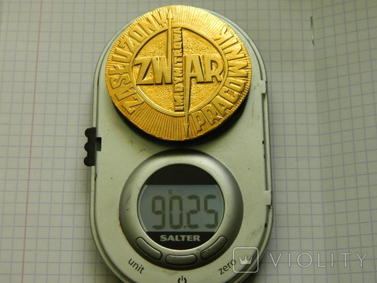 Настільна медаль 8., фото №4