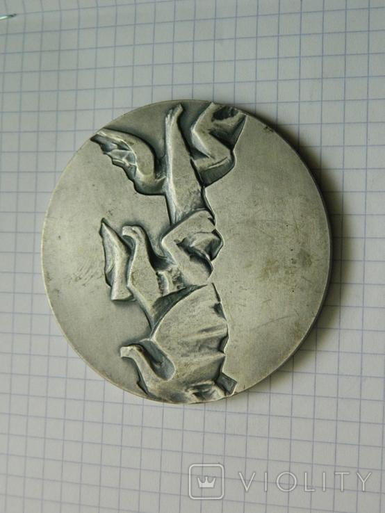 Настільна медаль 10., фото №3
